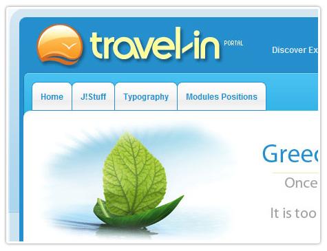 шаблон joomla BT Travel In
